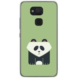 Funda Gel Tpu para Bq Aquaris V Plus / Vs Plus Diseño Panda Dibujos