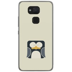 Funda Gel Tpu para Bq Aquaris V Plus / Vs Plus Diseño Pingüino Dibujos