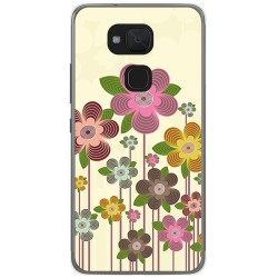 Funda Gel Tpu para Bq Aquaris V Plus / Vs Plus Diseño Primavera En Flor  Dibujos