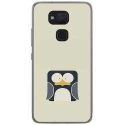 Funda Gel Tpu para Bq Aquaris V / Vs Diseño Pingüino Dibujos