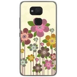 Funda Gel Tpu para Bq Aquaris V / Vs Diseño Primavera En Flor  Dibujos