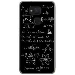 Funda Gel Tpu para Bq Aquaris V / Vs Diseño Formulas Dibujos