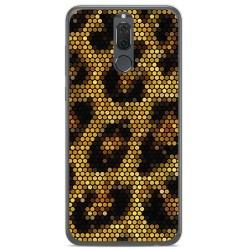 Funda Gel Tpu para Huawei Mate 10 Lite Diseño Leopardo Dibujos