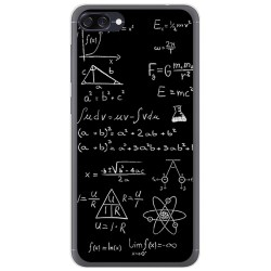 Funda Gel Tpu para Asus Zenfone 4 Max Zc520Kl Diseño Formulas Dibujos