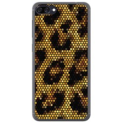 Funda Gel Tpu para Asus Zenfone 4 Max Zc520Kl Diseño Leopardo Dibujos