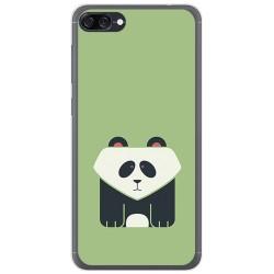 Funda Gel Tpu para Asus Zenfone 4 Max Zc520Kl Diseño Panda Dibujos