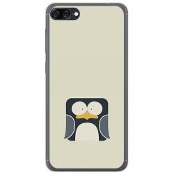 Funda Gel Tpu para Asus Zenfone 4 Max Zc520Kl Diseño Pingüino Dibujos
