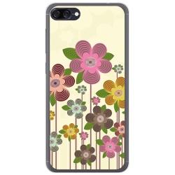 Funda Gel Tpu para Asus Zenfone 4 Max Zc520Kl Diseño Primavera En Flor  Dibujos