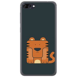 Funda Gel Tpu para Asus Zenfone 4 Max Zc520Kl Diseño Tigre Dibujos