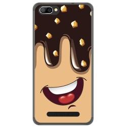 Funda Gel Tpu para Doogee X20 / X20L Diseño Helado Chocolate Dibujos