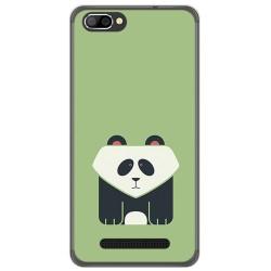 Funda Gel Tpu para Doogee X20 / X20L Diseño Panda Dibujos