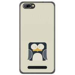 Funda Gel Tpu para Doogee X20 / X20L Diseño Pingüino Dibujos