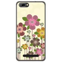 Funda Gel Tpu para Doogee X20 / X20L Diseño Primavera En Flor  Dibujos