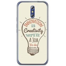 Funda Gel Tpu para Doogee Bl5000 Diseño Creativity Dibujos