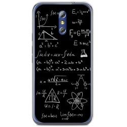 Funda Gel Tpu para Doogee Bl5000 Diseño Formulas Dibujos