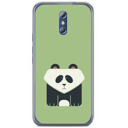 Funda Gel Tpu para Doogee Bl5000 Diseño Panda Dibujos