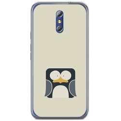 Funda Gel Tpu para Doogee Bl5000 Diseño Pingüino Dibujos