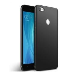 Funda Gel Tpu Tipo Mate Negra para Xiaomi Redmi Note 5A Pro / 5A Prime