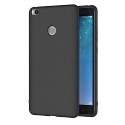 Funda Gel Tpu Tipo Mate Negra para Xiaomi Mi Max 2