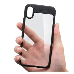 Funda Hybrid (Pc+Tpu) Negra para Iphone X / Xs