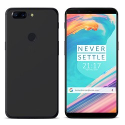 Funda Gel Tpu para Oneplus 5T Color Negra