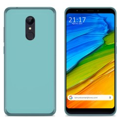 Funda Gel Tpu para Xiaomi Redmi 5 Color Azul
