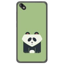 Funda Gel Tpu para Wiko Sunny 2 Plus Diseño Panda Dibujos