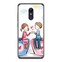 Funda Gel Tpu para Xiaomi Redmi 5 Diseño Cafe Dibujos
