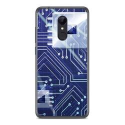 Funda Gel Tpu para Xiaomi Redmi 5 Diseño Circuito Dibujos