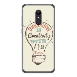 Funda Gel Tpu para Xiaomi Redmi 5 Diseño Creativity Dibujos