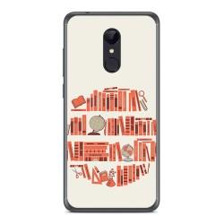 Funda Gel Tpu para Xiaomi Redmi 5 Diseño Mundo Libro Dibujos