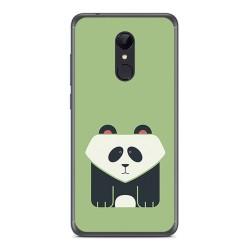 Funda Gel Tpu para Xiaomi Redmi 5 Diseño Panda Dibujos