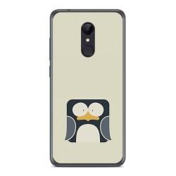 Funda Gel Tpu para Xiaomi Redmi 5 Diseño Pingüino Dibujos