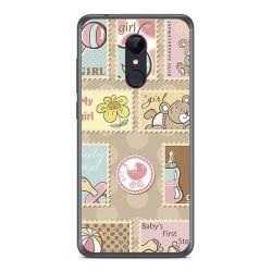 Funda Gel Tpu para Xiaomi Redmi 5 Diseño Sellos Dibujos