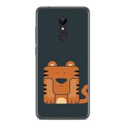 Funda Gel Tpu para Xiaomi Redmi 5 Diseño Tigre Dibujos