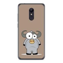 Funda Gel Tpu para Xiaomi Redmi 5 Diseño Toro Dibujos
