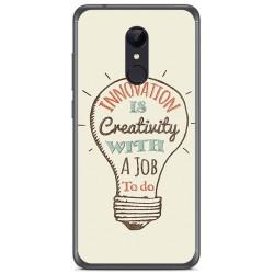Funda Gel Tpu para Xiaomi Redmi 5 Plus Diseño Creativity Dibujos