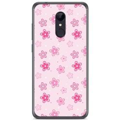 Funda Gel Tpu para Xiaomi Redmi 5 Plus Diseño Flores Dibujos