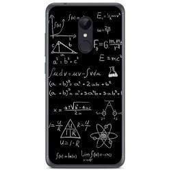 Funda Gel Tpu para Xiaomi Redmi 5 Plus Diseño Formulas Dibujos