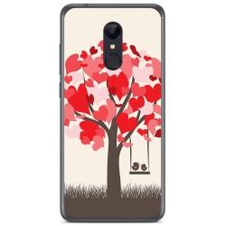 Funda Gel Tpu para Xiaomi Redmi 5 Plus Diseño Pajaritos Dibujos