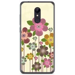 Funda Gel Tpu para Xiaomi Redmi 5 Plus Diseño Primavera En Flor Dibujos