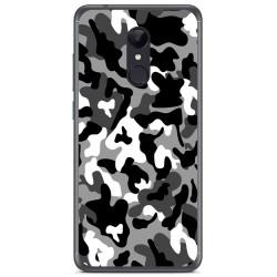 Funda Gel Tpu para Xiaomi Redmi 5 Plus Diseño Snow Camuflaje Dibujos