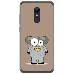 Funda Gel Tpu para Xiaomi Redmi 5 Plus Diseño Toro Dibujos