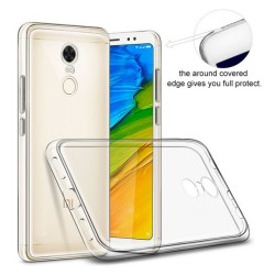 Funda Gel Tpu Fina Ultra-Thin 0,3mm Transparente para Xiaomi Redmi 5 Plus