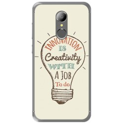 Funda Gel Tpu para Homtom HT37 - HT37 Pro Diseño Creativity Dibujos