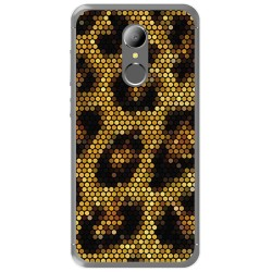 Funda Gel Tpu para Homtom HT37 - HT37 Pro Diseño Leopardo Dibujos