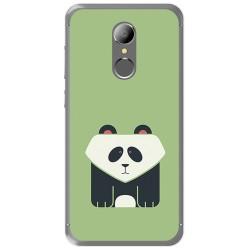 Funda Gel Tpu para Homtom HT37 - HT37 Pro Diseño Panda Dibujos