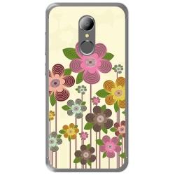 Funda Gel Tpu para Homtom HT37 - HT37 Pro Diseño Primavera En Flor Dibujos