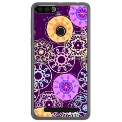 Funda Gel Tpu para Leagoo Kiicaa Power Diseño Radial Dibujos