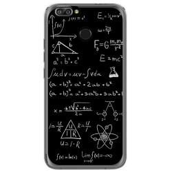 Funda Gel Tpu para Oukitel U22 Diseño Formulas Dibujos